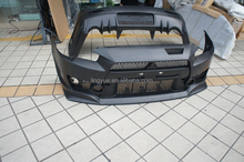 Hot ! Lancer EX Combat Style PP body kits Front bumper /rear bumper /side skirts