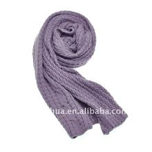 2012 girls' fashion knitted scarf