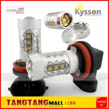 high power, high brightness Hot sale car parts h8 h13 h16 80w cree auto bulb led light