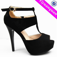Hong Kong Shoes High Heel New Design Women and Lady Sandals
