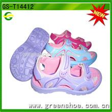 el último baratos al por mayor de moda las niñas sandalia