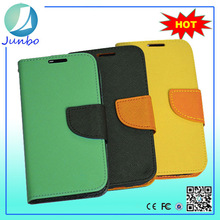 Genuine Stylish Leather Wallet Cover Flip Cell Phone Case For Lenovo S850