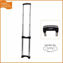Guangzhou JingXiang Portable Aluminum Luggage Handle leisure Trolley Handle Parts For Aluminum Luggage Case
