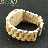 2015 new model maple wooden watch mens wrist watches in alibaba china