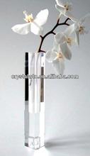 Jarrón de cristal con nuevo diseño