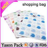 Yason custom shipping envelopes t-shirt plastic packaging roll film plate printing