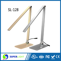Modern aluminium 7w led desk lamps study table lamp