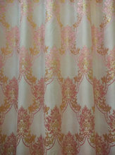pink curtains and drapes gold silk curtain fabric silk curtain Flat small gold