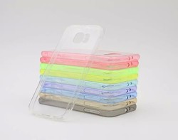 Transparent Clear TPU Rubber Gel Ultra Thin Case For Galaxy S6