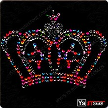 High quality fashion wholesale royalty crown diamante