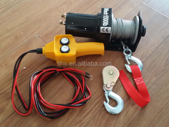 Portable Used Mini Electric Winch Motor 12v For Sale Buy