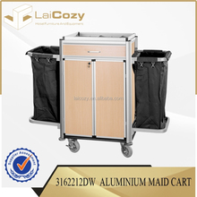High quality housekeeping cart for hotel from China supplier/hotel housekeeping cart