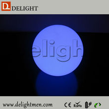 Promotion glow color changing remote control magic egg light