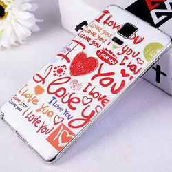 Ultrathin Soft TPU Mobile Phone Case for Samsung Galaxy Note 3 Color Print Case