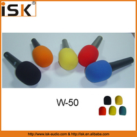 china factory microphone foam windscreen w-50