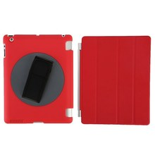 Handheld rotating 360 degree case for iPad, hot sales for iPad 2/3/4 handheld case