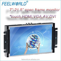 10.1inch monitor metal housing embedded for kiosk medical pos CNC machine