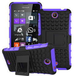 Roiskin stand case for nokia lumia 430 with foldable kickstand case for nokia lumia 430