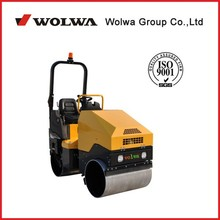 GNYL52C diesel engine 25.0HP one side support single drum vibrating 1700kg driving double drum road roller for sale