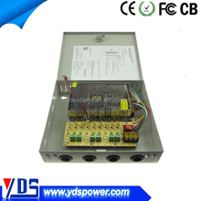 New 12V 5A 6 Channels, security box ,cctv power supply/switching power supply