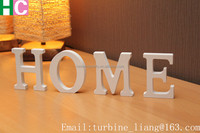 home letters,MDF word,wooden alphabet letters