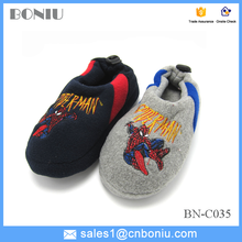 2015 winter children's cotton slippers warm and comfortable indoor shoes for boys and girls