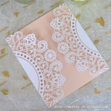laser cut wedding white laser cut invitations with blank insert card