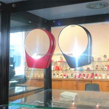 travel hanging mirror portable makeup mirror / 5X, 10x lighted magnifying makeup mirror