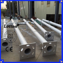OEM outdoor 3.5m galvanized steel electric pole
