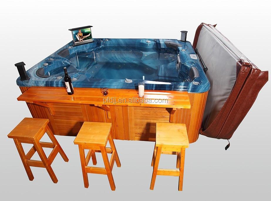 sıcak satış balboa sistemi kumanda açık sıcak küvet wifi ve dvd ve tv