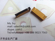 double coating groove tungsten carbide inserts