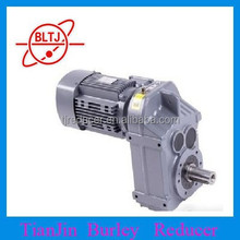 china TIANJIN High driving efficiency Parallel helical Gear Speed Reducer
