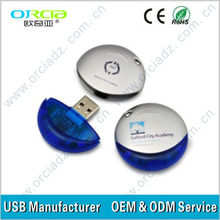 Best price 50%OFF 2gb funny shape like egg usb with lanyards price only $3.1/pcs warranty 1 year, full and real capacity
