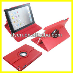 Hot Selling Wholesale Strong Magnets Smart Cover 360 Rotating Leather Case for iPad Case and Cover for Tablet PC Accessories