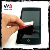 High Quality custom print microfiber cleaning cloth,hot smart microfiber sticky cloth,mobile phone wipe