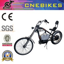 2015 new design 48V 500W harley ebike 35km/h battery bikes with 26'' front wheel