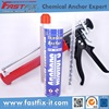Strong fixing and bonding adhesive for metal construction hardware
