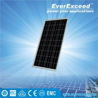 EverExceed Reliable quality 195W Polycrystalline Solar Panel made of Grade A solar cell for customized solar pump system