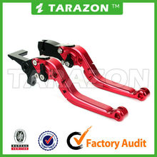 Tarazon brand motorcycle CNC extendable brake lever for aprilia tuono/r