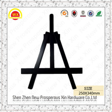 Hot sale small advertising easel flower display stand