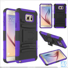 Cheap Price 3 in 1 PC Silicone Shockproof Amor Case for Samsung Galaxy Note 5, For Galaxy Note 5 Protective Case Mix Color is OK
