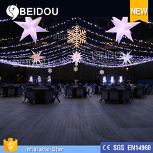 2015 Hot Sale Outdoor and Indoor LED Inflatable Star Lights for Christmas Decoration