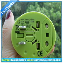 travel set&double adapter plug socket&power plugs and sockets