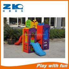 Multi-function funny children plastic combo slide kids plastic toy