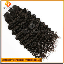 Best seller Jerry curly remy human hair extensions, hair weaving extension dropshipping