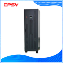 high Frequency 3 phase LED+LCD Display pure sine wave double conversion online 80kva Ups