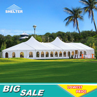 Romantic Stunning Luxury Wedding Party Transparent Event Tents for sale