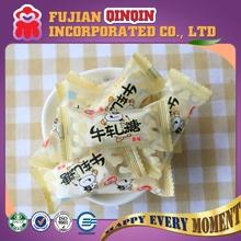 customized promotional hard chewing milk nougat