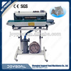 Sealing machine intelligent gas pulse reaction blending system to fill the domestic blank
