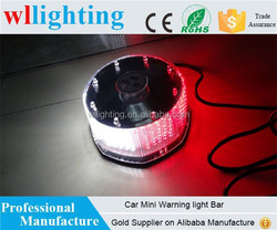 Auto Vehicle 240 Led Mini Warning Strobe Lights White/Red beacon